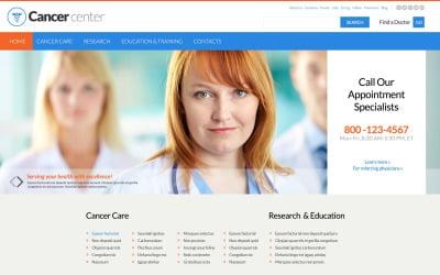 Cancer Center Website Template
