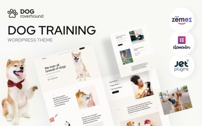 Dog Roverhound - Šablona WordPressu pro výcvik psů