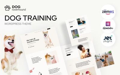 Dog Roverhound - Tema de WordPress para entrenamiento de perros