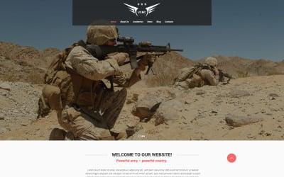 Marine Corps Website Template