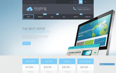 Shopify-Thema für Webhosting-Dienste