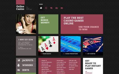 Шаблоны готовых сайтов казино играть карты дурак скачать