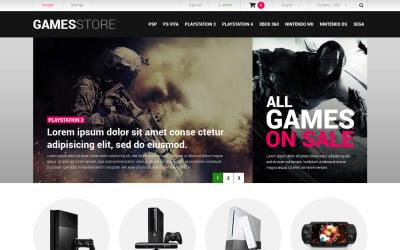 Video Games  Consoles PrestaShop Theme