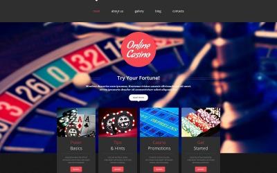 Шаблоны готовых сайтов казино играть в игру в 21 очко в карты бесплатно онлайн