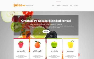 Tema WordPress responsivo para loja de alimentos