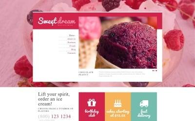 Ice Cream Production Joomla Template