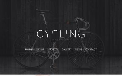 Modèle de club de cyclisme Joomla