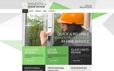 Тема WordPress для ремонта дома