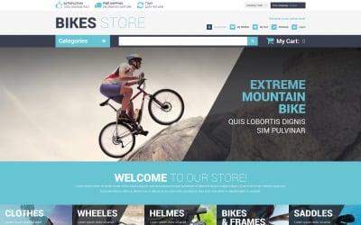 Cycling Store Magento Theme