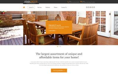 Interior & Furniture Muse Template