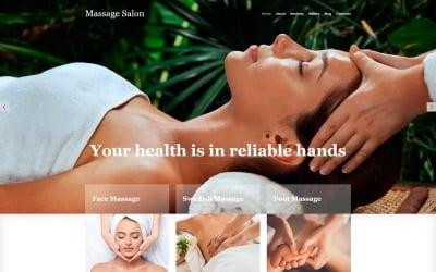 Massage Salon Ready-to-Use Modern Joomla Template