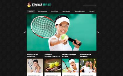 Teniszérzékeny WordPress téma
