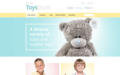 Toys Shop PrestaShop Theme