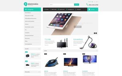Elektronikus áruház OpenCart sablon