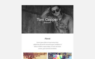 Photographer Portfolio Responsive Newsletter Template