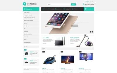 Plantilla OpenCart de tienda electrónica