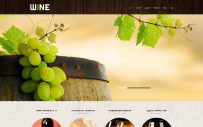 Thème WordPress réactif Winery
