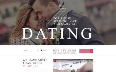 Online Dating Services Joomla Template