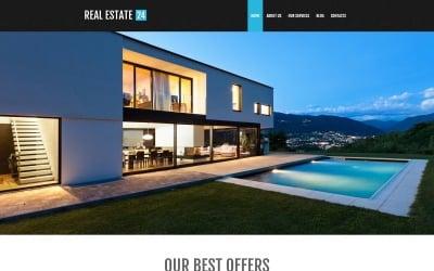 Thème WordPress pour les services immobiliers