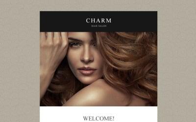 Hair Salon Responsive Newsletter Template