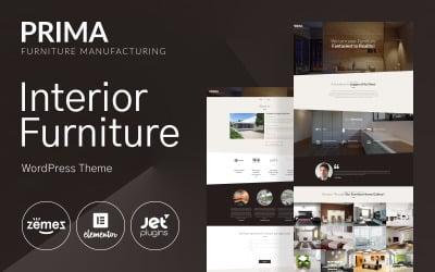 Innenmöbel WordPress Theme - Prima WordPress Theme