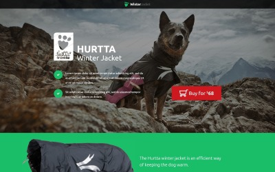 Animals & Pets Landing Page Template