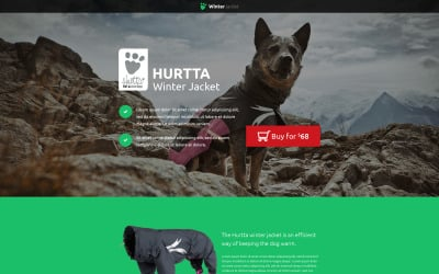 Animals & Pets - Unbounce template