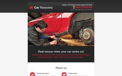 Car Repair Responsive Newsletter Template