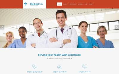 Medical Moto CMS 3 Template