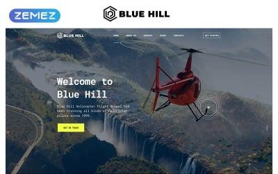 Blue Hill - Flight School Multipage Creative HTML Website Template