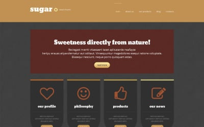 Food Store Responsive WordPress Theme