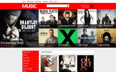 Mixed Taste Music Shop Magento Theme