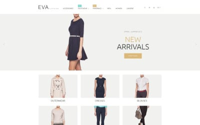 Clothes Store Magento Theme