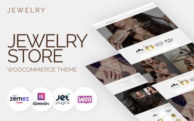 Sieraden - Sieraden Website-ontwerpsjabloon voor online winkels WooCommerce-thema