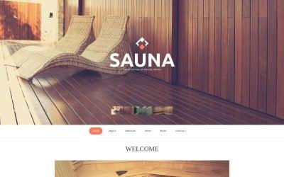 Sauna Moto CMS HTML Template