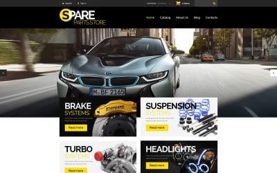 Car Spares VirtueMart Template