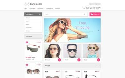 Eyewear OpenCart Template
