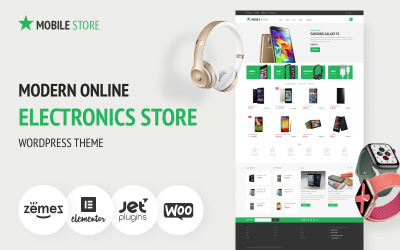 Mobile Store - Electronics Store WooCommerce Theme