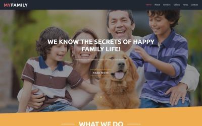Посмішка - Безкоштовний шаблон Joomla літнього табору