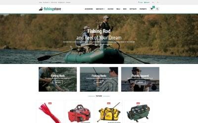 Шаблон OpenCart для рыбалки