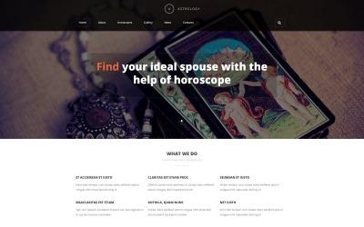Asztrológus portfólió Joomla sablon