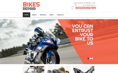 Bike Shop Moto CMS 3 Template