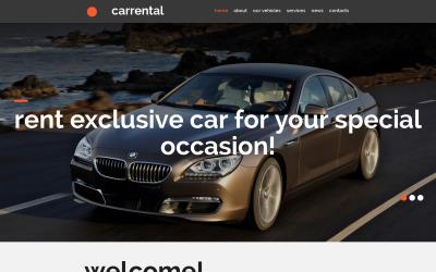 Car Rental Moto CMS 3 Template