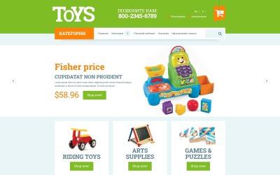 OpenCart šablona Hračky pro děti