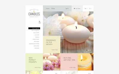 Candle Light PrestaShop Theme