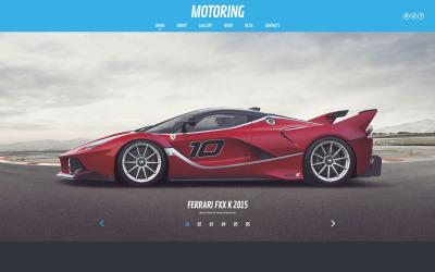 Motoring WordPress Teması