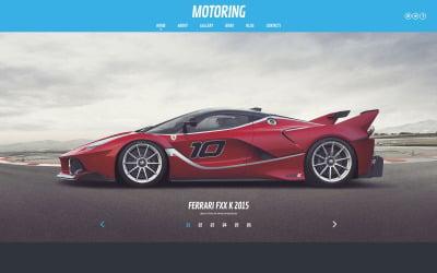 Motoring WordPress Theme