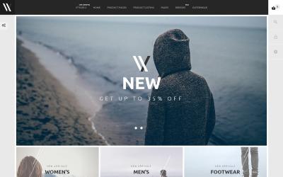 Styler - PrestaShop-tema för modebutik