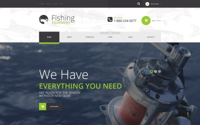 Fishing Kit WooCommerce-thema