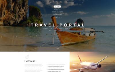 Modèle de muse d'agence de voyage
